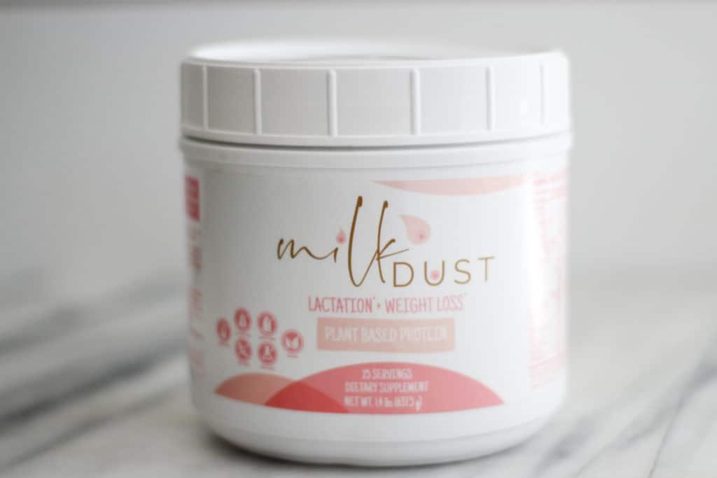 milk dust protein lactation